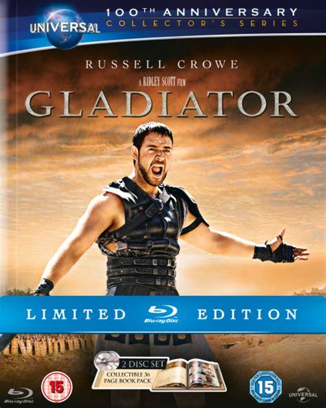 gladiator film uk rating gladiator digibook edition blu ray zavvi com