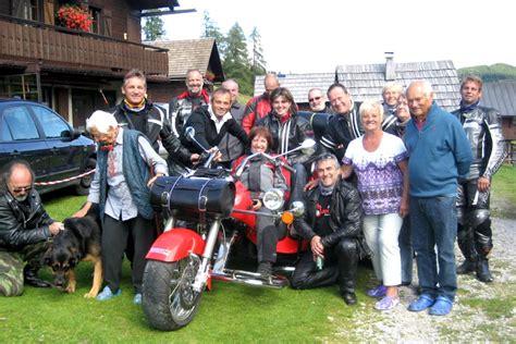 Motorrad Club Villach motorrad club blue biker auf die dellacher alm