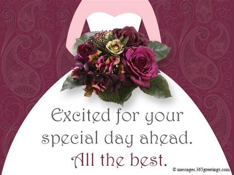 Bridal Shower Greetings by Bridal Shower Congratulations Wishes 365greetings