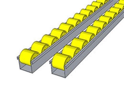 micro on tracks mini micro tracks fastrax gravity roller conveyor