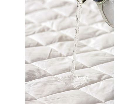 Cotton Quilted Mattress Protector by Belledorm Cotton Quilted Waterproof Mattress Protectors