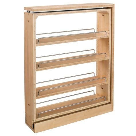 Rev A Shelf 432 Bf 6c 6 Quot Wood Base Cabinet Pullout Filler Cabinet With Shelves