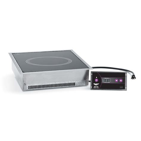 vollrath induction cooktop vollrath 69505 drop in commercial induction cooktop w 1