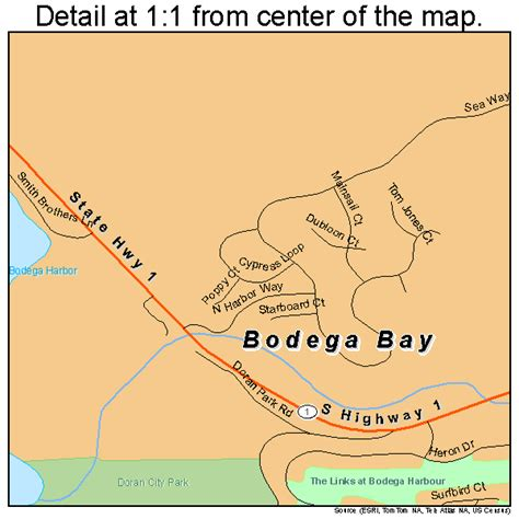 california map bodega bay bodega bay california map 0607260