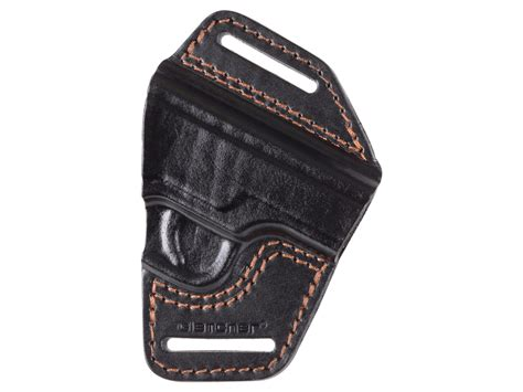 gletcher aps leather belt holster black holsters