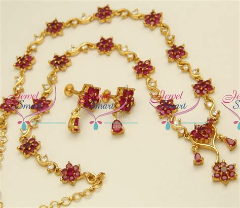 buy stones for jewelry n3948 ruby floral design jewellery semi precious stones