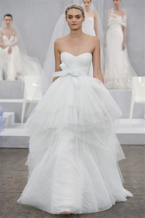 spring 2015 wedding dress collections new designer monique lhuillier spring 2015 bridal collection preowned