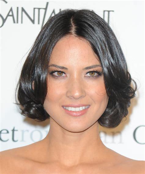 women jaw line hair olivia munn hairstyles in 2018