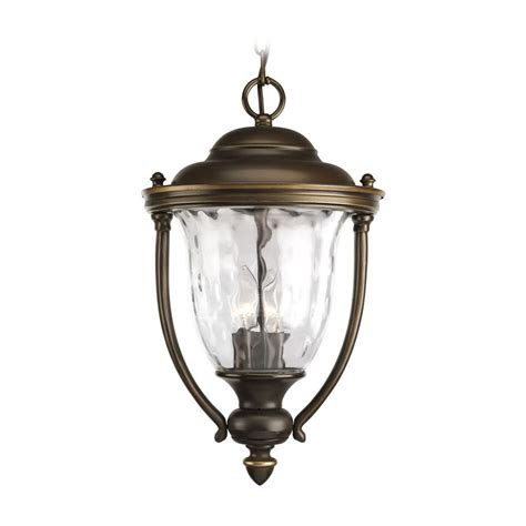 Progress Oil Rubbed Bronze Outdoor Hanging Light With Outdoor Swag Lights