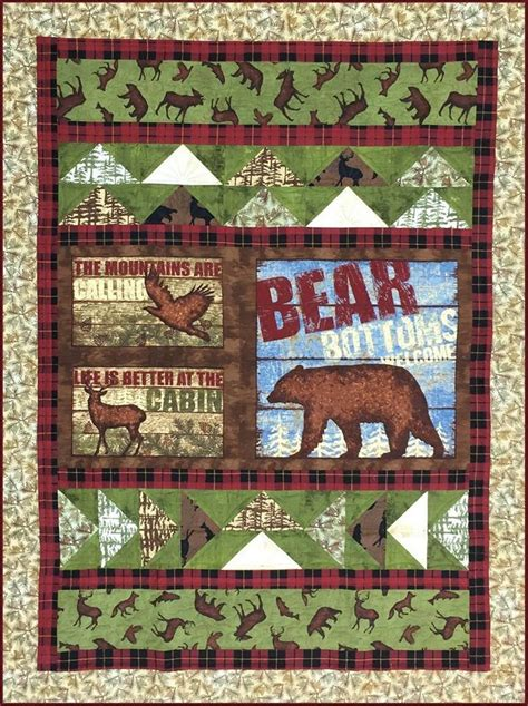 Quilt Fabrics Shopping by Cabin Quilt Kit