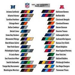 nfl team colors chart nfl team colors search football