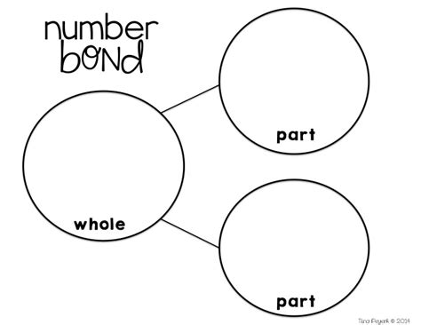 number bond template mrs peyerk s porcupine pals on number bonds