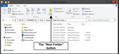 How To Create A New - create a new folder in windows 8 tutorial