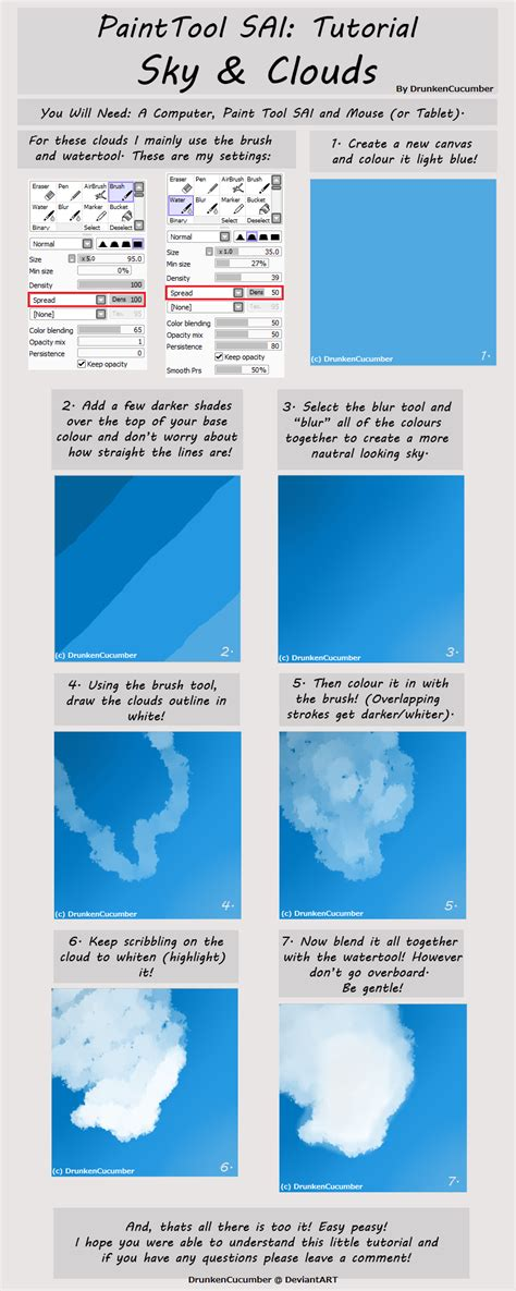 paint tool sai reference paint tool sai cloud tutorial by drunkencucumber on