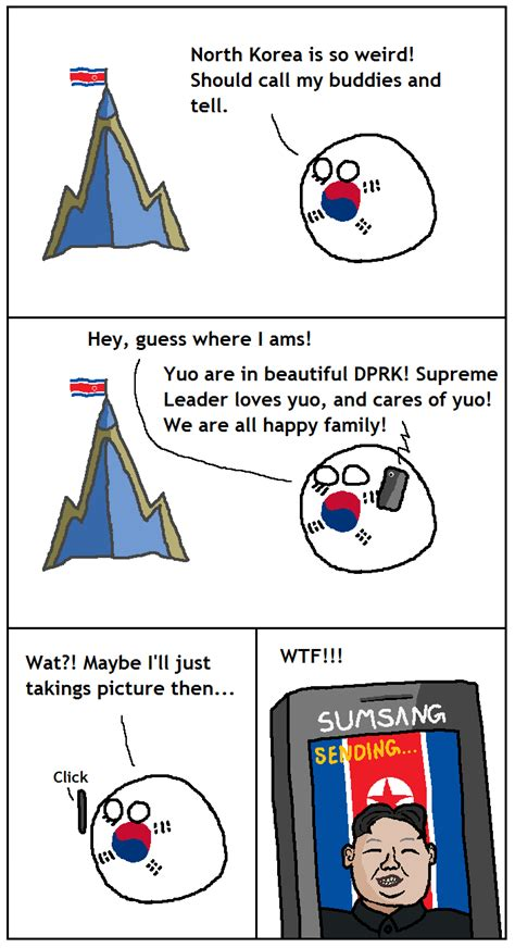 What Calendar Do They Use In Korea Polandball News Foreigners Permitted To Carry Phones In