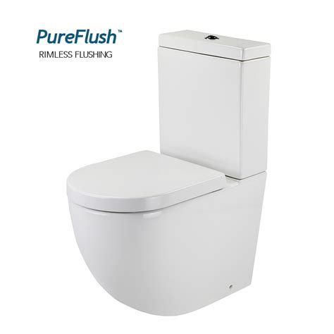 Baths With Shower Screens rimless toilet suite bathroom toilets