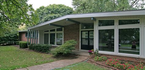 mid century modern house plans pictures