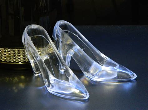 glass slipper cinderella s glass slipper pair