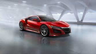 Acura Sport Cars Top Sports Car 2016 Honda Acura Nsx Einfozine