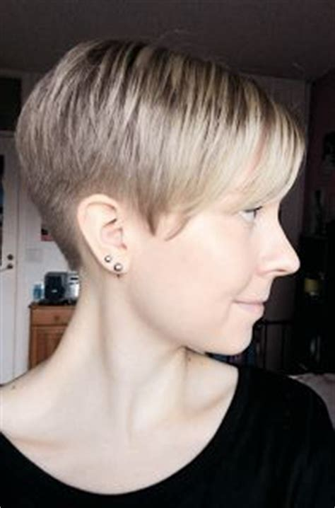 pixie cut back on pinterest shaved nape edgy pixie hair pixie buzzed nape hair pinterest nice and classic