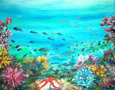 Apps For Floor Plans by Deep End Of The Sea Painting By Mary Sedici