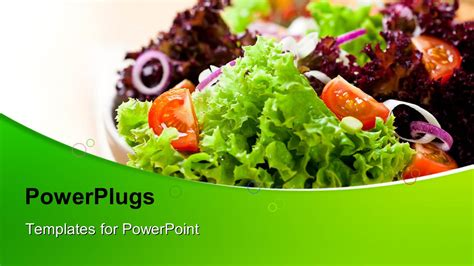 powerpoint templates free download healthy food powerpoint template healthy and fresh fruits and