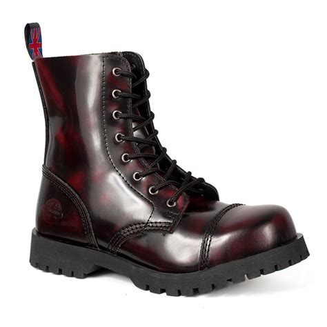 burgundy combat boots nevermind 8 eye burgundy leather combat boots