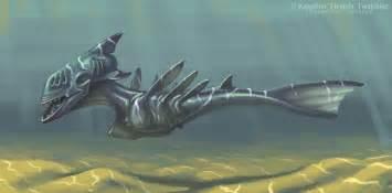 water creature by twarda8 on deviantart