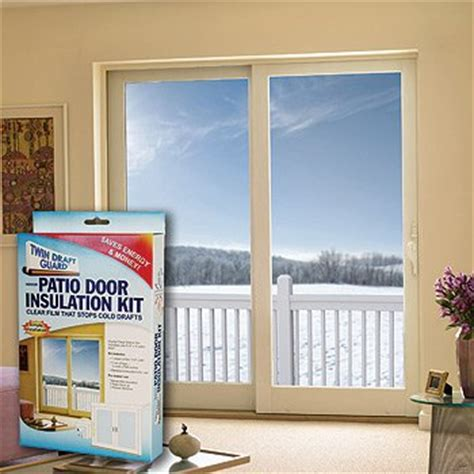 Patio Door Insulation Window Insulation Kit Patio Door Hardware