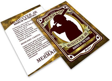 large baseball card template baseball card mock ups cover actions premium mockup