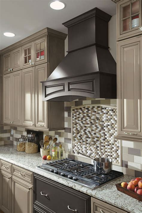 wood embellishments for cabinets arched wood hood decora cabinetry