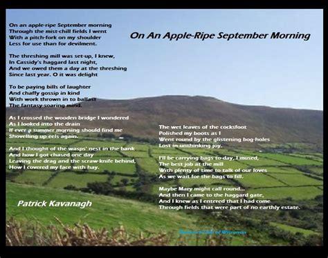 canal bank walk poem by patrick kavanagh poem hunter 17 best images about patrick kavanagh on pinterest