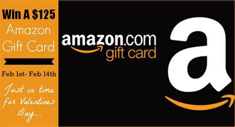 Amazon Gift Card History - 125 amazon gift card giveaway