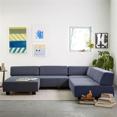 west elm tillary ottoman tillary 174 2 sofa sectional west elm