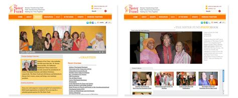 sister website the sister fund web site ashay media group