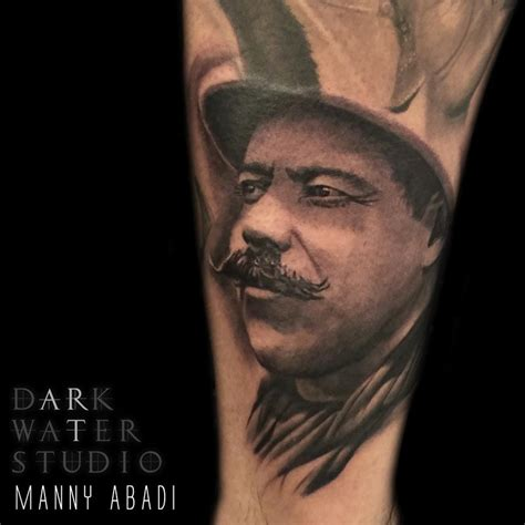 pancho villa tattoos pancho villa by manny abadi tattoonow