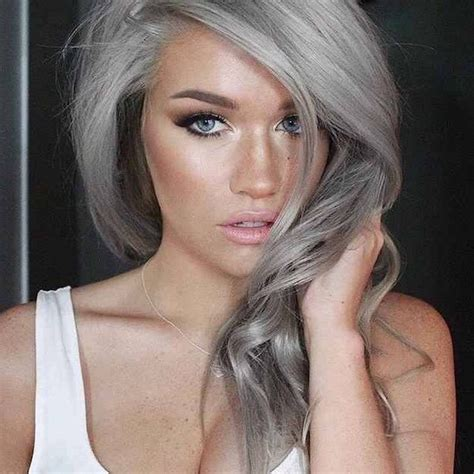 2015 hair color trends silver is granny hair really the 1 hair trend right now the