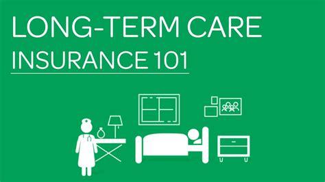 term care insurance long term care insurance 101 youtube