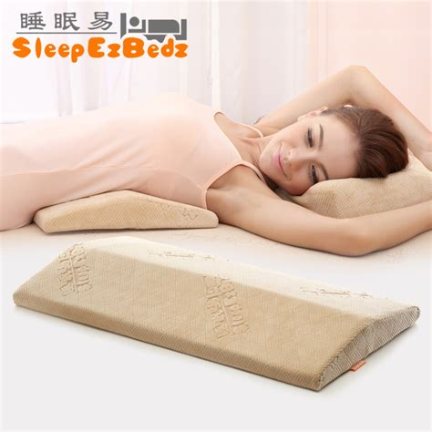 lumbar support bed pillow online get cheap support pillows for bed aliexpress com