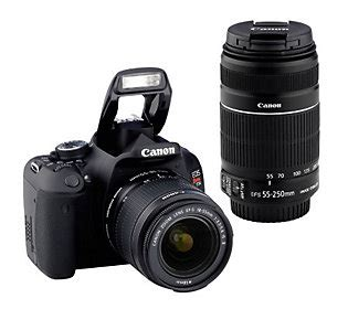 len qvc qvc 9 1 13 canon eos rebel t3i 18mp dslr deluxe kit with