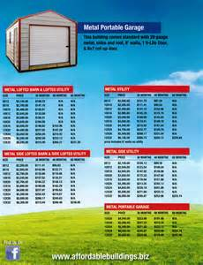 Metal Building Prices Metal Buildings Metal Buildings Price List
