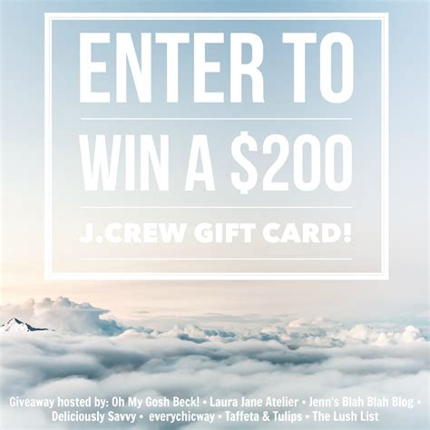 Jcrew Gift Cards - god s growing garden 200 j crew gift card giveaway