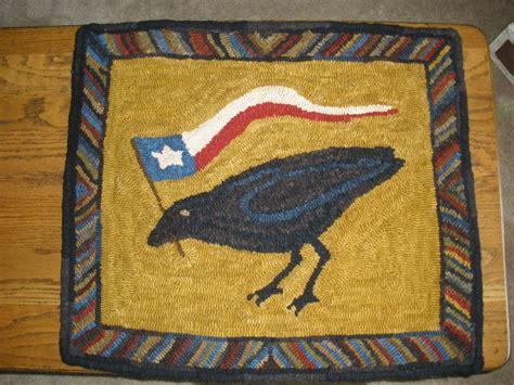 finishing a hooked rug teresa s primitive treasures finished my hooked rug