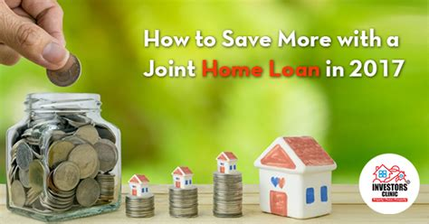 joint housing loan investors clinic blog real estate news india