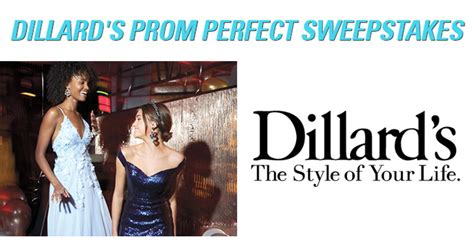 seventeen dillard s prom perfect sweepstakes - Seventeen Giveaway