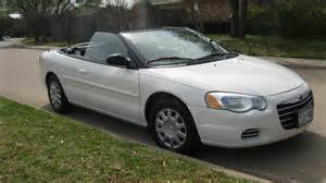 2005 Chrysler Convertible 2005 Chrysler Sebring Pictures Cargurus