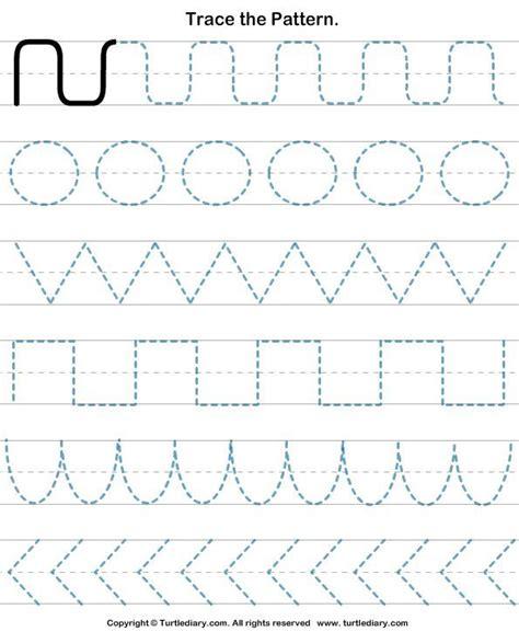 printable writing skills worksheets draw pattern worksheets pre writing skills pinterest