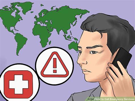 Lu Emergency Way 7 ways to call emergency services wikihow