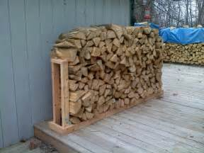Exterior Outdoor Fire Wood Storage Under Stair And Back
