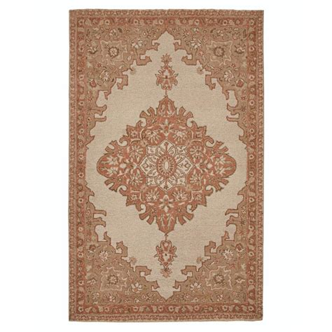area rugs home decorators home decorators collection mae ivory 8 ft x 11 ft area